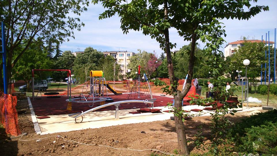 Mladenovac municipality (city of Belgrade) - children's playground
