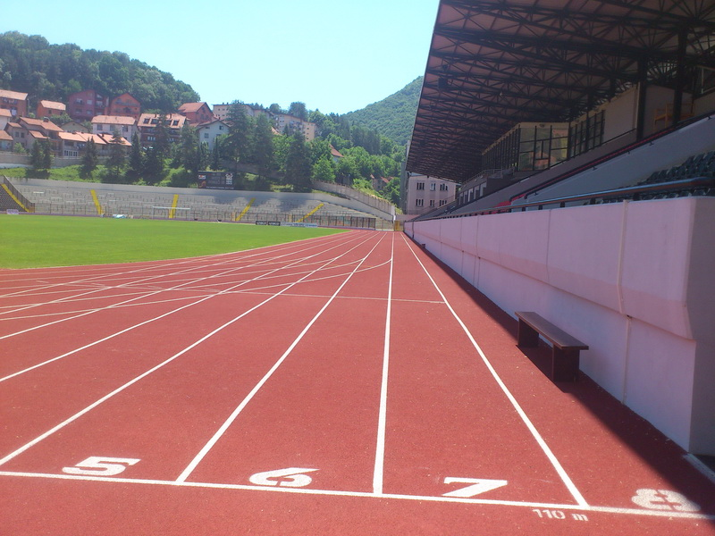 FC Užice – athletics Track