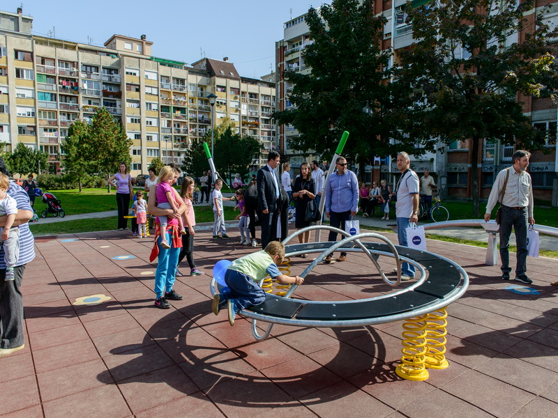 Šabac - children's playground