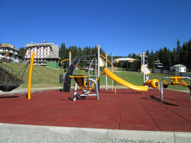 Kopaonik mountain resort - children's playground