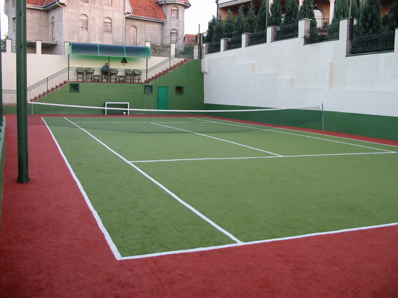 Tennis court - multi sport surface