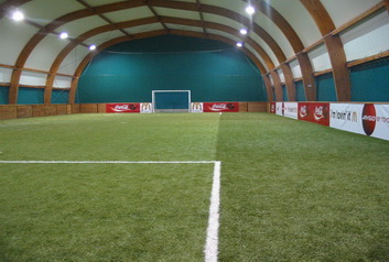 Baloon halls and mini pitch courts